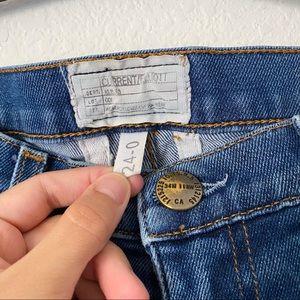 Current/Elliott Jeans - Current Elliot Raw Released Hem Size 24